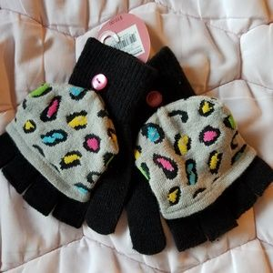 NWT SO Flip Top gloves